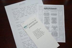 careers leaflets