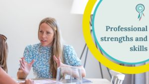 professional strengths and skills