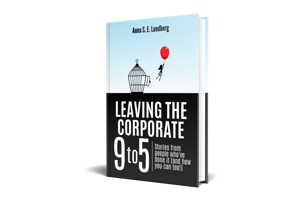 Leaving the corporate 9 to 5 book cover