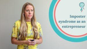 imposter syndrome as an entrepreneur