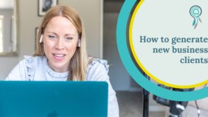 how to generate new business clients
