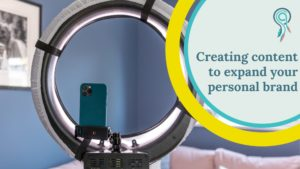 what content to create to expand your personal brand