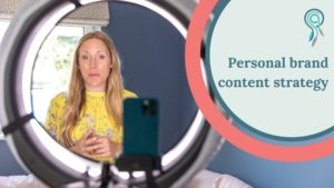 personal brand content strategy