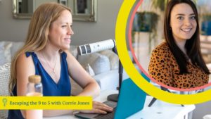 how to run your own agency with Corrie Jones