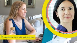 helping women in tech business with Maja Schreiner