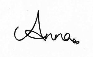 Anna's signature